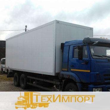 Изотермический сэндвич фургон КАМАЗ-65117-3010-23(A4) (80мм)