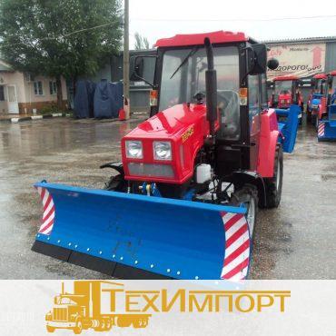 Трактор Беларус-320-Ч.4МУП (отвал+щетка)