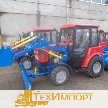 Трактор Беларус-320-Ч.4МУП (погрузчик+отвал+щетка)