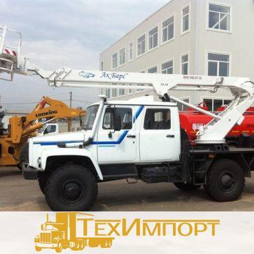 Автогидроподъемник ТА-18 на шасси ГАЗ-33081 (5 мест)