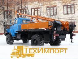 Бурильно-крановая машина БКМ-515А