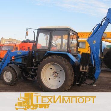 Экскаватор-погрузчик ЭО-2626ДТ на шасси трактора Беларус 82.1