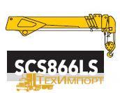 Кран манипулятор КМУ SOOSAN SCS 866