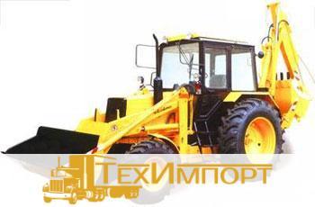 Экскаватор-погрузчик Амкодор 702ЕМ-03 на шасси трактора Беларус 92П