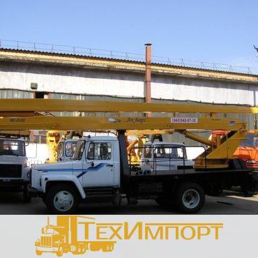 Автогидроподъемник ВС-22.02 (двухколенный) на шасси ГАЗ-3309 (4Х2)