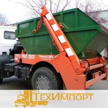 Мусоровоз МК-3412-01 на шасси МАЗ-5550В2 контейнерный