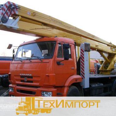 Автогидроподъемник ВС-22.06 (двухколенный) на шасси КамАЗ-43253 (4x2)