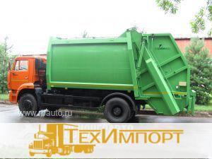Мусоровоз КО-427-72 на шасси КАМАЗ 53605-773950-19 с порталом