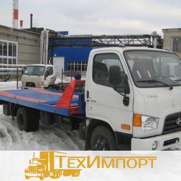 Автоэвакуатор Эвакуатор на шасси hyundai hd-78  (сдвижная платформа)