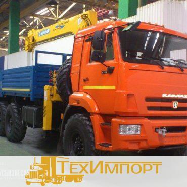 КМУ Камаз 43118-3078-46 + Soosan 736