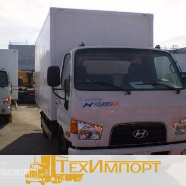 Изотермический фургон из сэндвич-панелей на шасси Hyundai HD-78