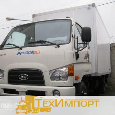 Промтоварный фургон на шасси Hyundai HD-78 SuperCab