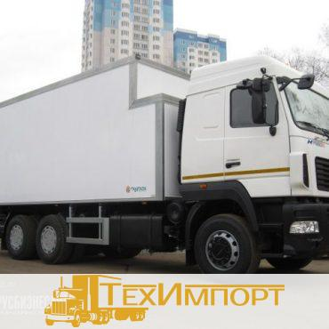 Фургон МАЗ 6312B9-429-012 сэндвич 80 мм со ступенькой под ХОУ