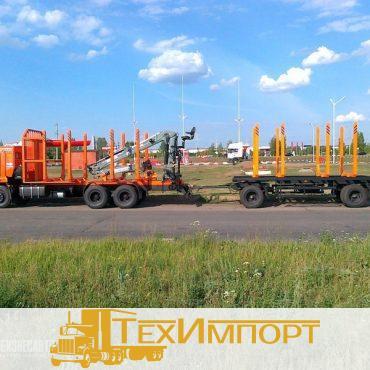Сортиментовоз КАМАЗ 65115-3094-23 с ОМТЛ-70