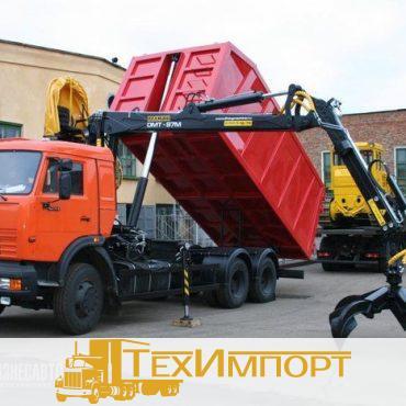 Ломовоз КАМАЗ 65115-3094-23 с ОМТ-110М НОВИНКА