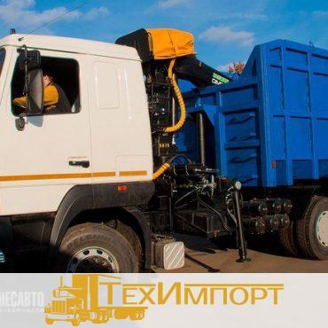 Ломовоз МАЗ 6312B5-8429-012  с ОМТ-97М
