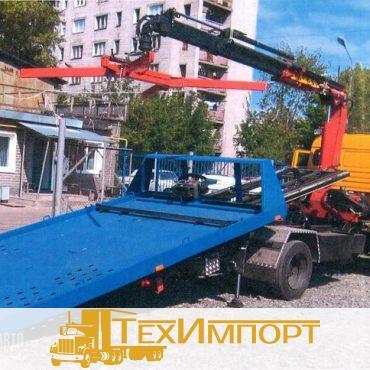 Автоэвакуатор Эвакуатор на шасси  КАМАЗ-4308 (база 4200/4800) (сдвижная платформа с КМУ)