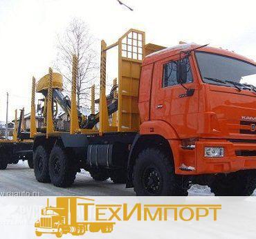 Сортиментовоз КАМАЗ 43118-3078-46 с ОМТЛ-70