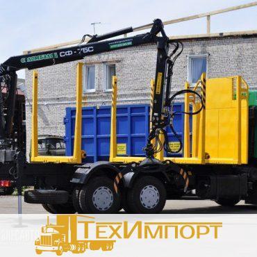 Сортиментовоз МАЗ 6312В5-8429-012 с СФ-75