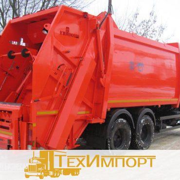 Мусоровоз КО-427-80 на шасси КАМАЗ 65115-773081-42 с порталом