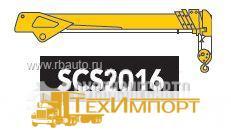 Кран манипулятор КМУ SOOSAN SCS 2016