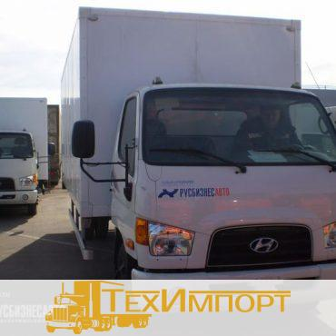 Промтоварный фургон на шасси Hyundai HD-78 (6,2 м)