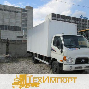 Изотермический фургон из сэндвич-панелей (50 мм) на шасси Hyundai HD-78 (5,1м)