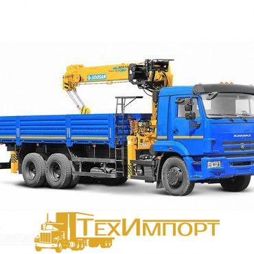 КМУ Камаз 65117-3010-23 + Soosan 736LII Верхнее управление
