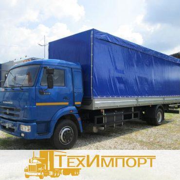 КАМАЗ-5308-6013-23 Бортовой тентованный, сдвижные шторы и крыша