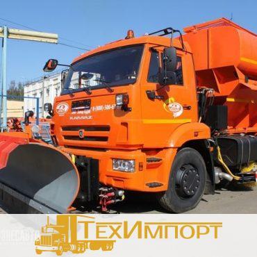 Дорожно-комбинированная машина ЭД-244КМ на шасси КАМАЗ 53605-3950-19