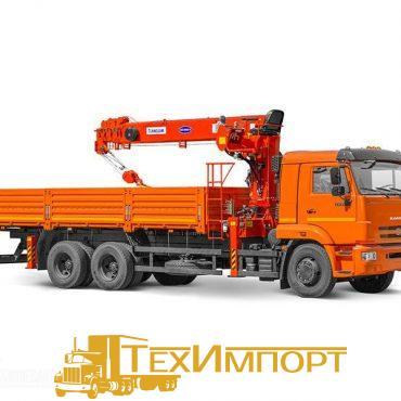 КМУ КАМАЗ 65117-3010-23 + КМУ Kanglim KS1256GII верхнее управление