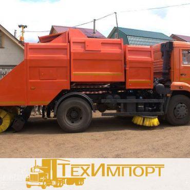 Подметально-уборочная машина ПУМ-77.3 на шасси КАМАЗ-43253