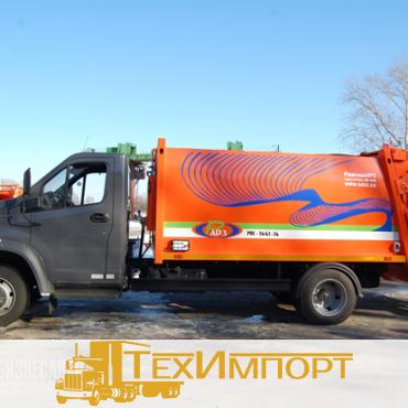Мусоровоз МК-1441-14 на шасси ГАЗ-С41R33
