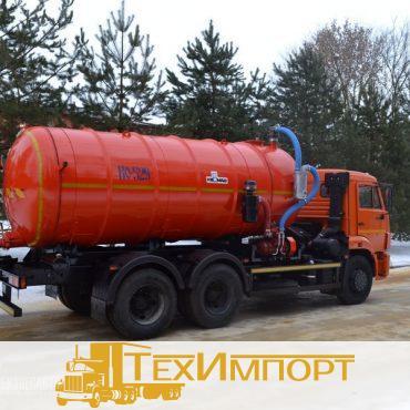 Вакуумная машина КО-529-20 на шасси КАМАЗ 65115-773082-42