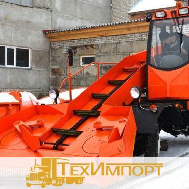 Подметально-уборочная машина Cнегопогрузчик лаповый КЗДМ-206