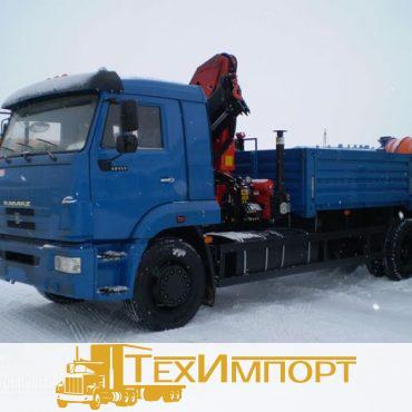 КМУ Palfinger РK 15500 на базе КАМАЗ 65117-3010-23