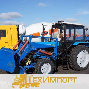 Трактор Машина коммунальная МК.03 (погрузчик+отвал+щетка)