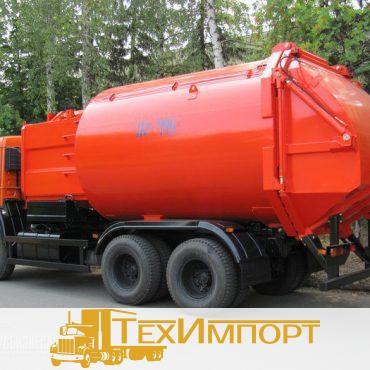 Мусоровоз КО-449-02 на шасси КАМАЗ 65115-773082-42