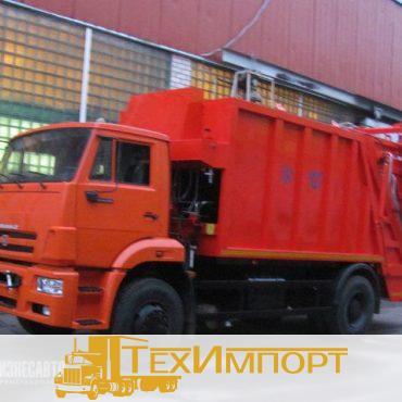Мусоровоз КО-427-52 на шасси КАМАЗ 53605-773950-19 с порталом