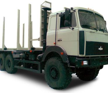 Сортиментовоз МАЗ 6317Х9-465-000 с СФ 75С