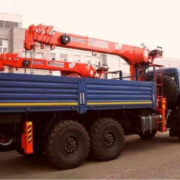 КМУ Kanglim KS 1256 GII на шасси КАМАЗ-43118-3017-46